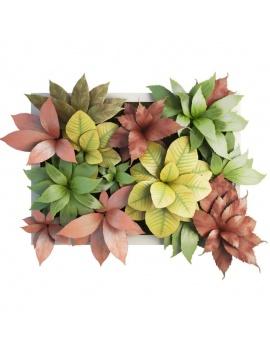 collection-de-plantes-et-fleurs-3d-tableau-vegetal-3