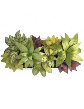 collection-de-plantes-et-fleurs-3d-tableau-vegetal-5