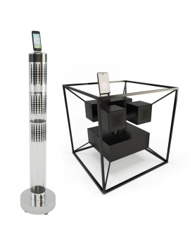 technology-accessories-collection-3d-speakers