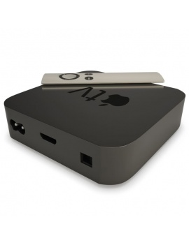 technology-accessories-collection-3d-apple-tv