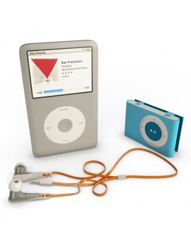technology-accessories-collection-3d-apple-ipod