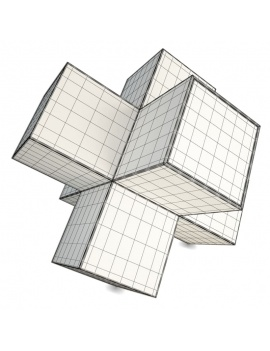 high-tech-technological-devices-3d-speakers-xcube-wireframe
