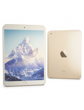 technology-accessories-collection-3d-apple-ipad