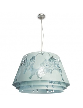 pendant-lamp-decorative-lampshade-3d-blue