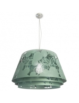 pendant-lamp-decorative-lampshade-3d-green