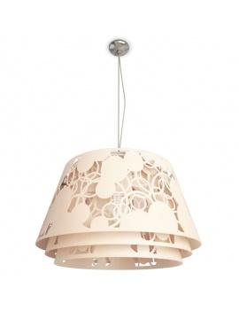 pendant-lamp-decorative-lampshade-3d-pink