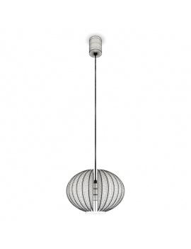black-design-blume-pendant-light-3d-1-wireframe