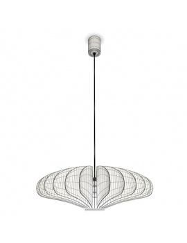 black-design-blume-pendant-light-3d-2-wireframe