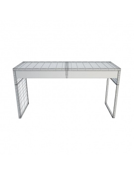 Architect-Collection-3d-desk-white-wireframe