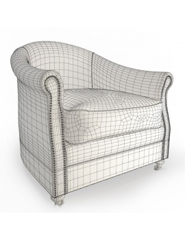 vintage-furniture-3d-artu-armchair-wireframe