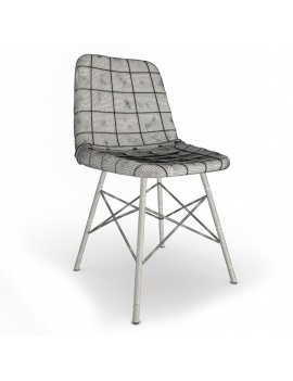 vintage-furniture-tables-and-seats-3d-doris-square-chair-wireframe