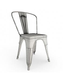 collection-3d-de-meuble-vintage-chaise-rust-filaire