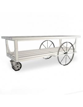 collection-3d-de-meuble-vintage-table-vlack-filaire