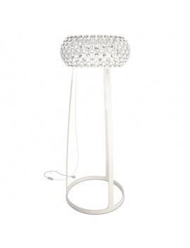 living-dining-room-3d-caboche-floor-foscarini-lamp