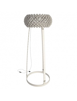 living-dining-room-3d-caboche-floor-lamp-foscarini-wireframe