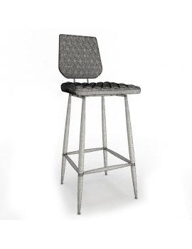 collection-of-pub-vintage-furniture-3d-brighton-stool-wireframe