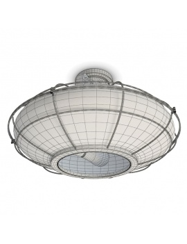 Collection-of-pub-vintage-furniture-3d-ceiling-lamp-connell-wireframe