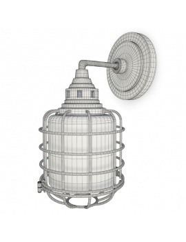 Collection-of-pub-vintage-furniture-3d-wall-lamp-connell-wireframe