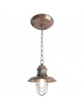 Collection-of-pub-vintage-furniture-3d-copper-lamp