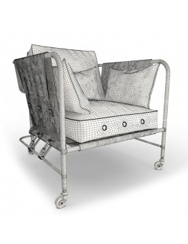 Collection-of-pub-vintage-furniture-3d-armchair-darwin-wireframe