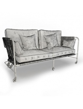 Collection-of-pub-vintage-furniture-3d-sofa-darwin-wireframe