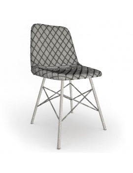 Collection-of-pub-vintage-furniture-3d-chair-doris-diamond-wireframe