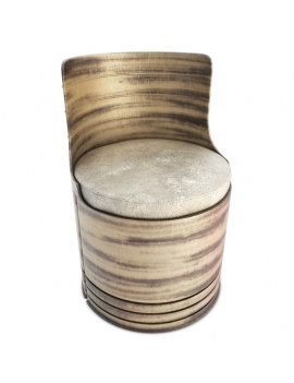 collection-of-pub-vintage-furniture-3d-drum-armchair