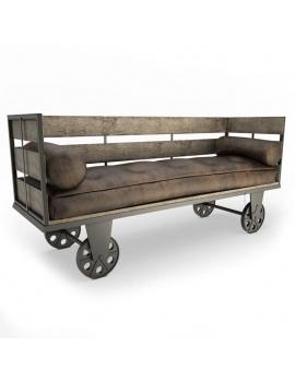 collection-de-mobilier-pub-vintage-3d-canapé-Inma