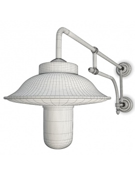 collection-of-pub-vintage-furniture-3d-fiati-lamp-street-wireframe