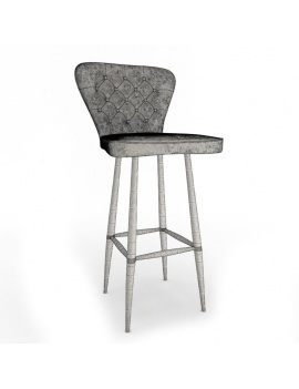collection-of-pub-vintage-furniture-3d-stool-nordwich-wireframe