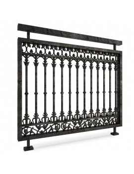 collection-of-pub-vintage-furniture-3d-railing