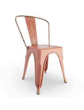 collection-de-mobilier-pub-vintage-3d-chaise-tolix-rouge