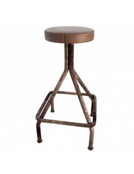 collection-of-pub-vintage-furniture-3d-stool-mendel