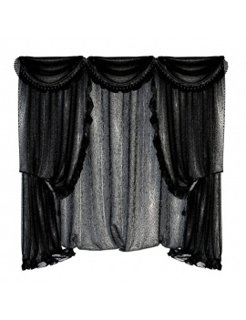 classic-bedroom-froufrou-3d-models-curtains-wireframe