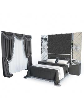 chambre-classique-rideaux-et-dentelles-3d