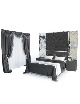 classic-room-curtains-and-lace-3d
