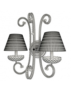 classic-bedroom-froufrou-3d-models-wall-lamp-wireframe