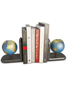decorative-objects-3d-models-earthglobe-books