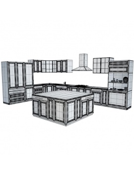 kitchen-furniture-and-accessories-3d-models-furniture-wireframe