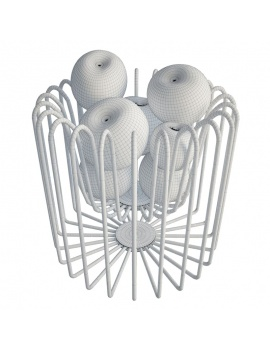 kitchen-furniture-and-accessories-3d-models-apples-wireframe