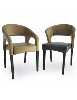 chair-and-armchair-endra-3d