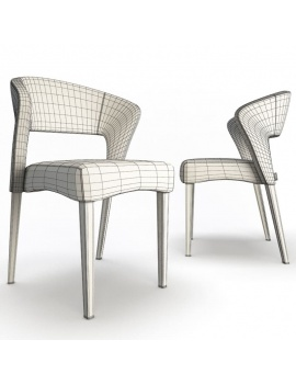 chair-endra-3d-models-wireframe
