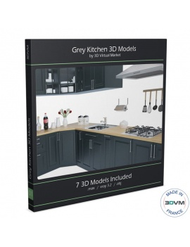 kitchen-furniture-and-accessories-3d-models