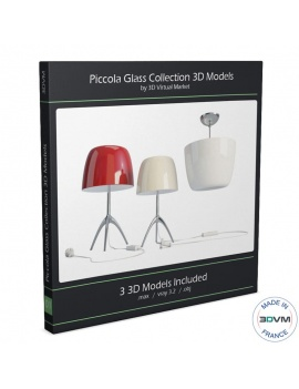 collection-lampes-piccola-foscarini-modeles-3d