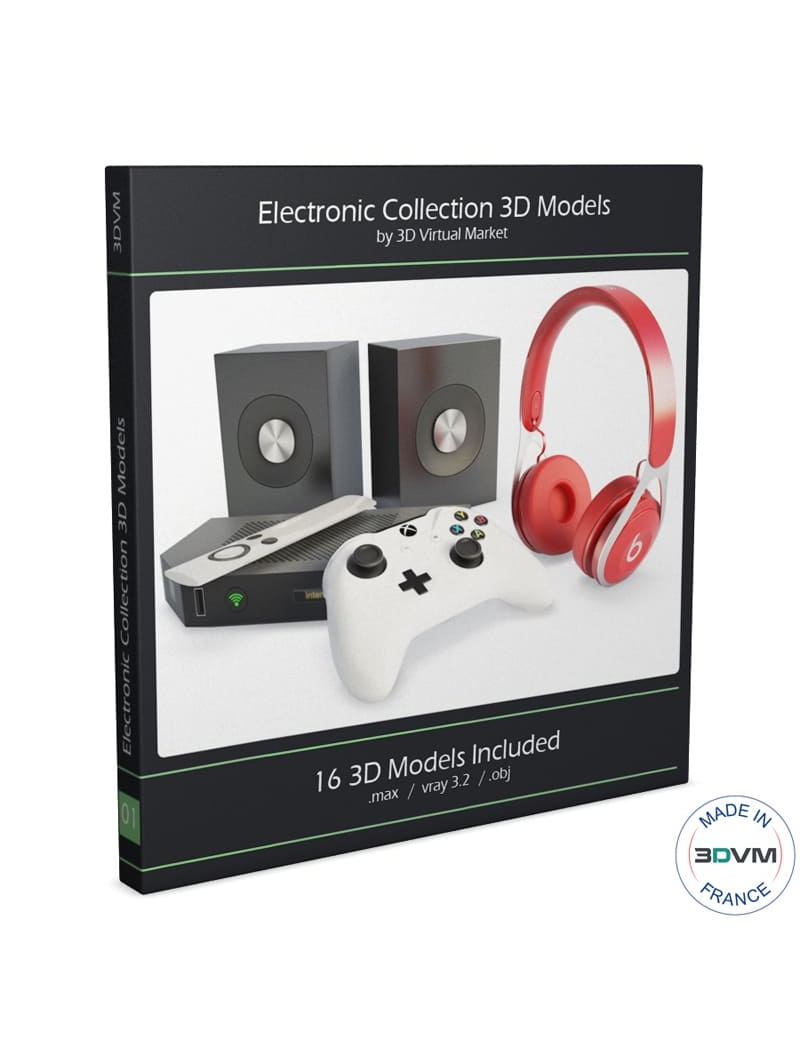 technology-accessories-collection-3d