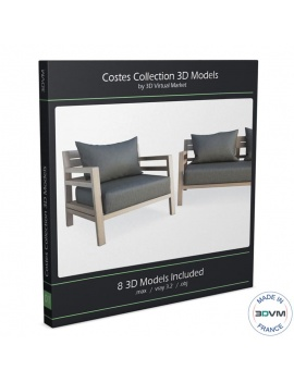 collection-mobilier-bois-costes-3d