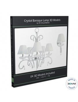 collection-lampe-baroque-en-cristal-3d