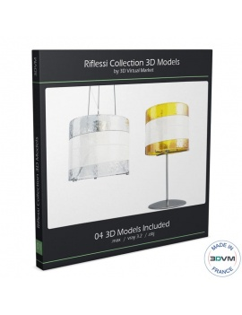riflessi-lamps-collection-av-mazegga-3d