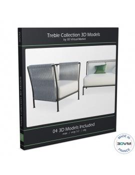 treble-Garden-Furniture-collection-3d