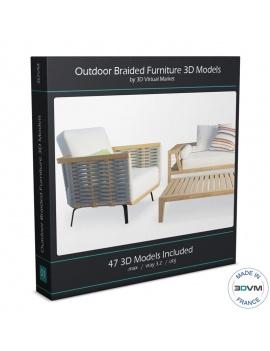 collection-mobilier-tresse-extérieur-3d